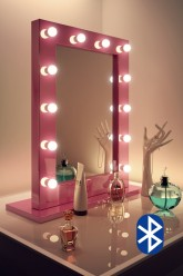 Audio Pink Hollywood Mirror