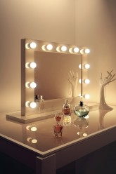 High Gloss White Mirror